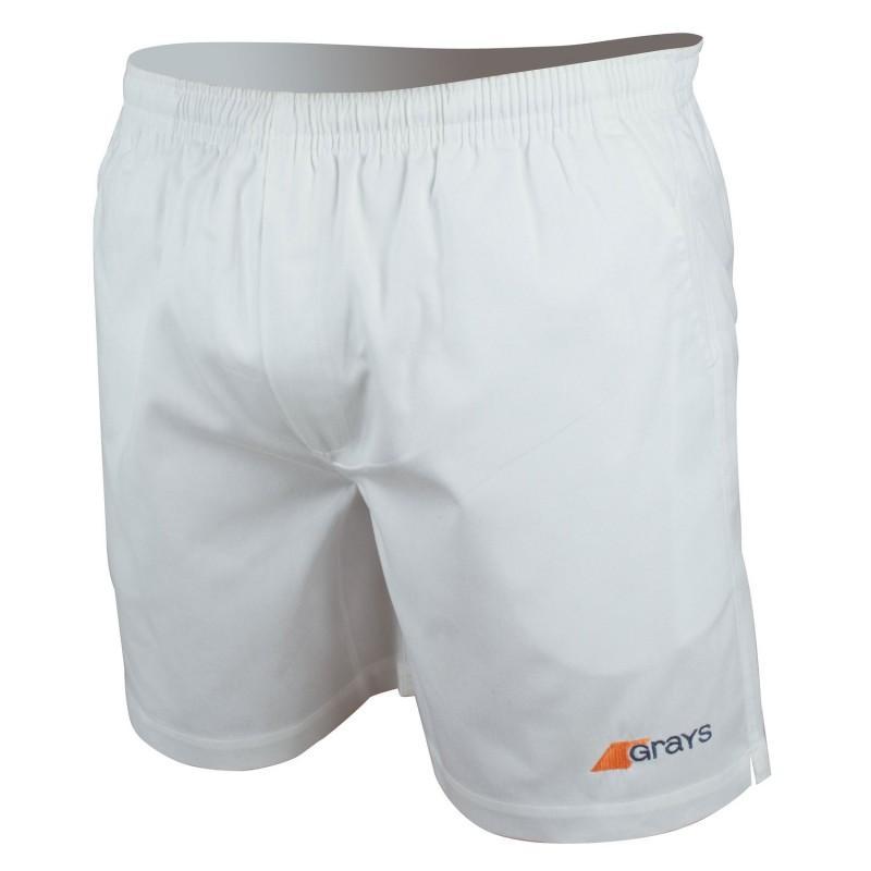 Grays G500 Hockey Shorts - White