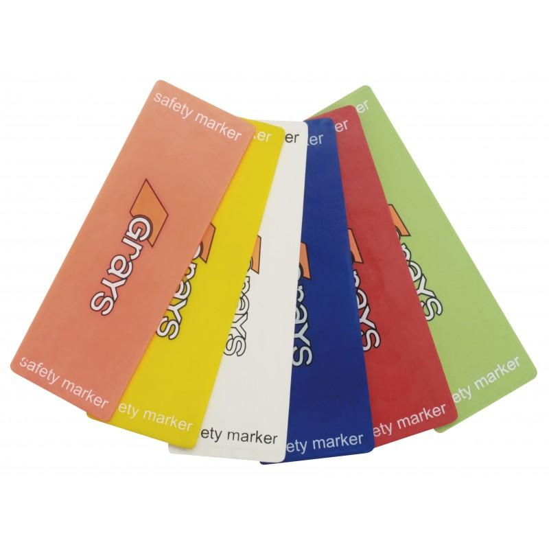 Grays Safety Markers - Blue (pack of 6)