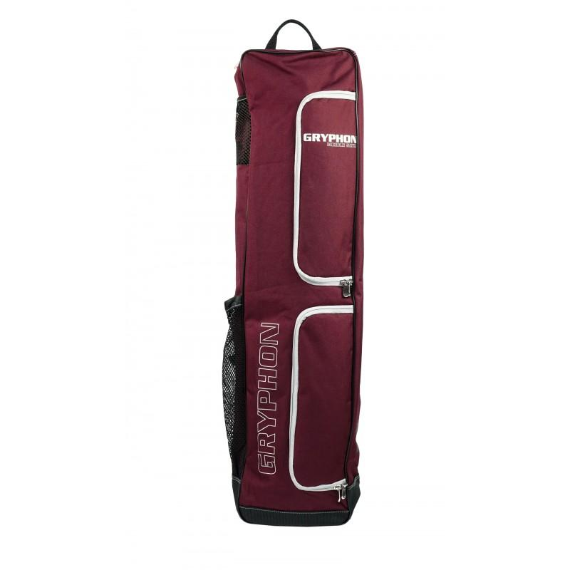 Gryphon Middle Mike Stick And Kit Bag - Burgundy (2019/20)