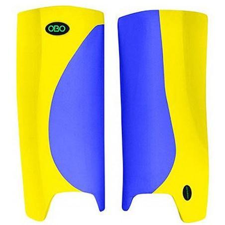 OBO Robo Hi-Rebound Legguards - Blue/Yellow