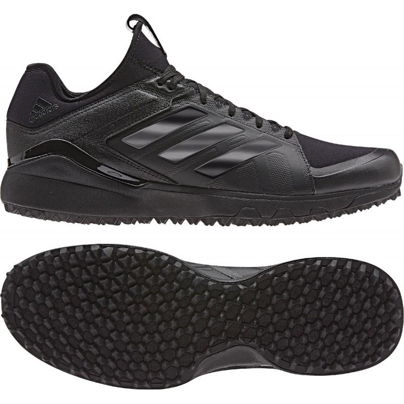 Adidas Lux 1.9S Hockey Shoes - Black (2019/20)