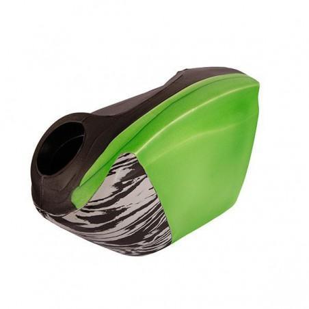 OBO Robo Hi-Rebound Right Hand Protector - Green/Black
