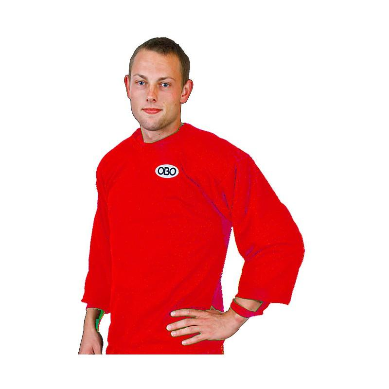 OBO Loose Fit Long Sleeve Smock - Red