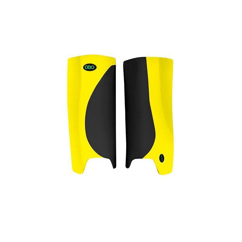 OBO Robo Hi-Rebound Legguards - Black/Yellow