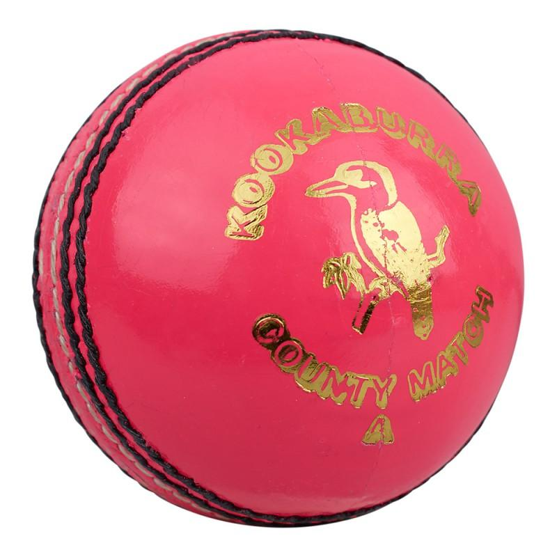 Kookaburra County Match Cricket Ball - Pink (2020)