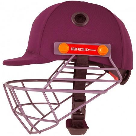 Gray Nicolls Elite Junior Cricket Helmet - Maroon (2020)
