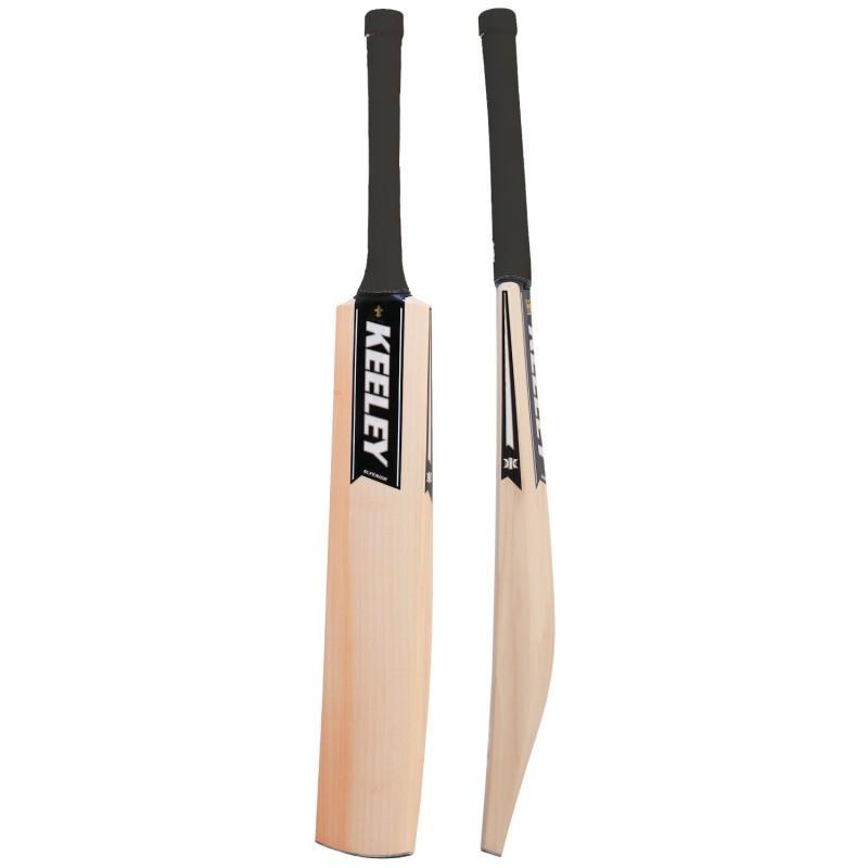Keeley Superior Grade 1 Cricket Bat - Black (2020)
