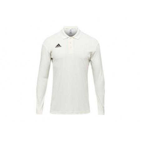 Adidas Howzat Long Sleeve Cricket Shirt