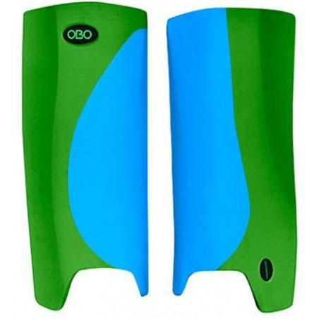 OBO Robo Hi-Rebound Legguards - Peron Blue/Green