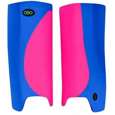 OBO Robo Hi-Rebound Legguards - Pink/Blue