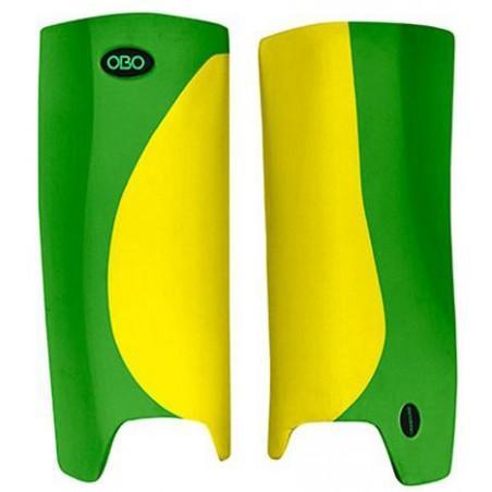 OBO Robo Hi-Rebound Legguards - Yellow/Green