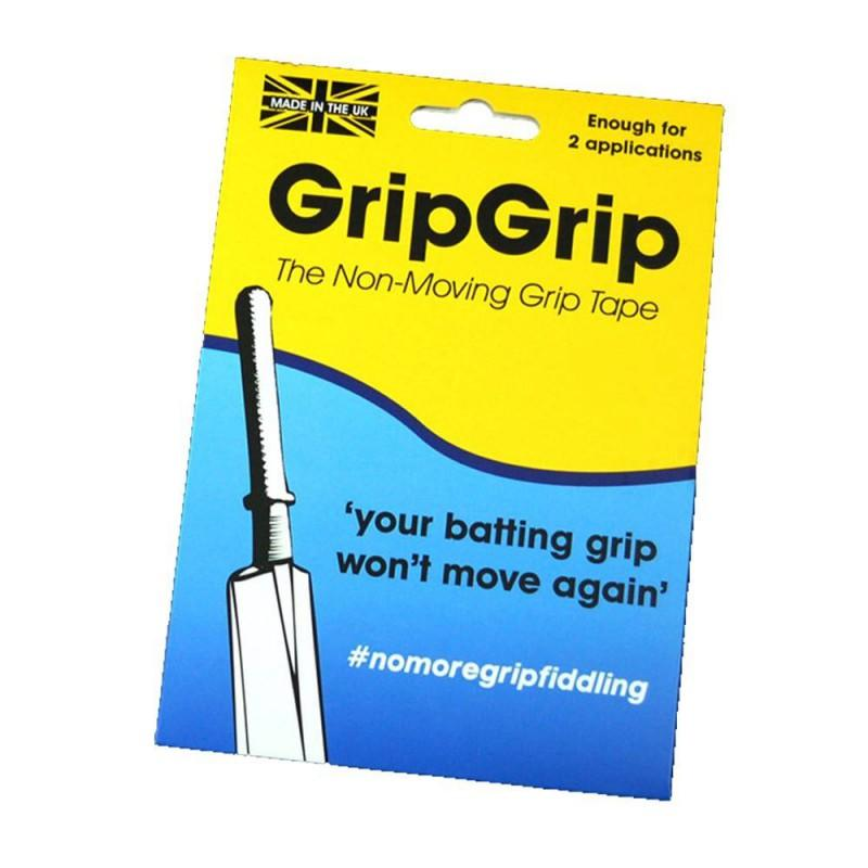 GripGrip Non-Moving Grip Tape Strips (for Cricket Bats)