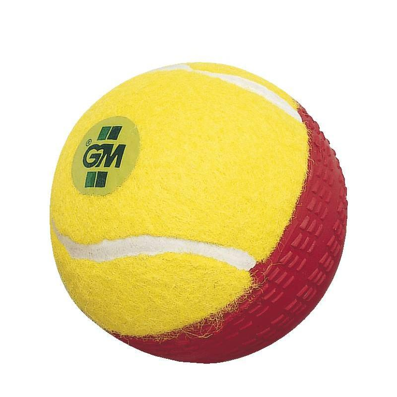 GM Swingking Cricket Ball (Yellow/Red)