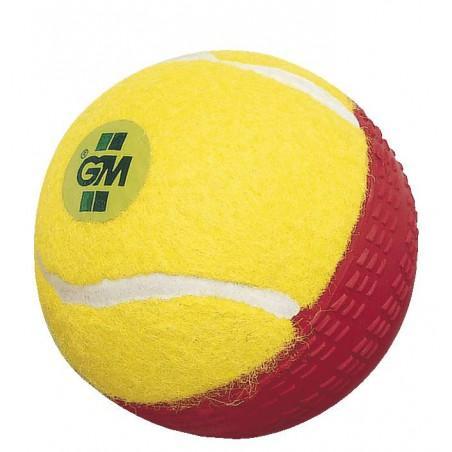GM Swingking Cricket Ball - Yellow/Red (2020)