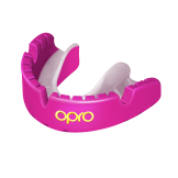 OPRO Self-Fit GEN4 Gold Braces Mouthguard - Pink/Pearl