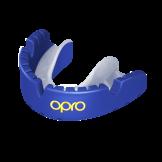 OPRO Self-Fit GEN4 Gold Braces Mouthguard -Pearl Blue/Pearl