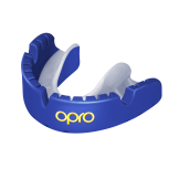 OPRO Self-Fit GEN4 Gold Braces Mouthguard -Pearl Blue/Pearl
