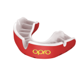 OPRO Self-Fit GEN4 Gold Mouthguard - Red/Pearl