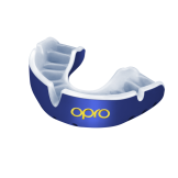 OPRO Self-Fit GEN4 Gold Mouthguard - Pearl Blue/Pearl