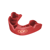 OPRO Self-Fit GEN4 Junior Bronze Mouthguard - Red