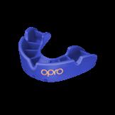 OPRO Self-Fit GEN4 Junior Bronze Mouthguard - Blue