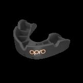 OPRO Self-Fit GEN4 Junior Bronze Mouthguard - Black
