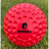 Omtex Bowling Machine Ball - Red - Pack of 12