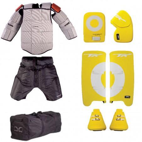 TK Total Four 4.5 Goalie Entry Set - Yellow/White (2020/21)
