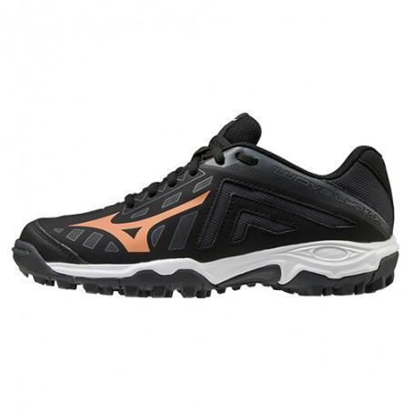 Mizuno Wave Lynx Junior Hockey Shoes - Black (2020/21)