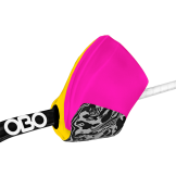 OBO Hi-Rebound Right Hand Protector - Pink/Yellow