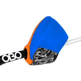 OBO Hi-Rebound Right Hand Protector - Blue/Orange