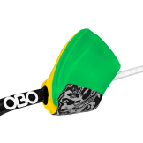 OBO Hi-Rebound Right Hand Protector - Green/Yellow