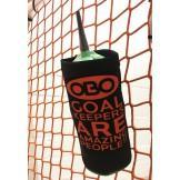 OBO Sipper Bottle Holder - Black/Orange