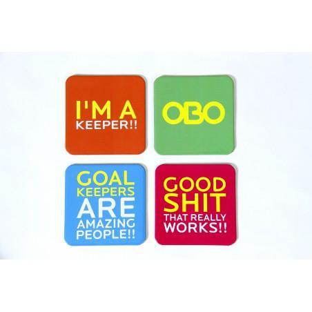 OBO Coasters (set of 4)