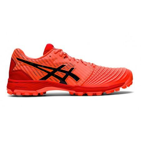 Asics Field Ultimate FF Womens Hockey Shoes - Sunrise Red/Black (2020/21)