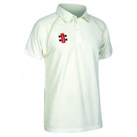 Gray Nicolls Matrix Short Sleeve Cricket Shirt