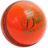 Dukes Crown School A Cricket Ball (Orange)