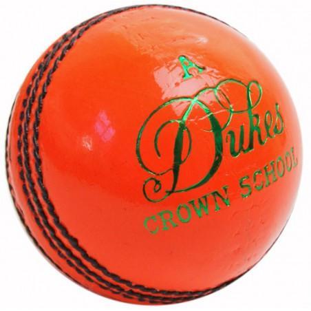 Dukes Crown School A Cricket Ball (Orange)