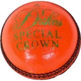 Dukes Special Crown 'A' Cricket Ball (Orange)