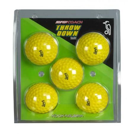 Kookaburra Throw Down Balls (x5)