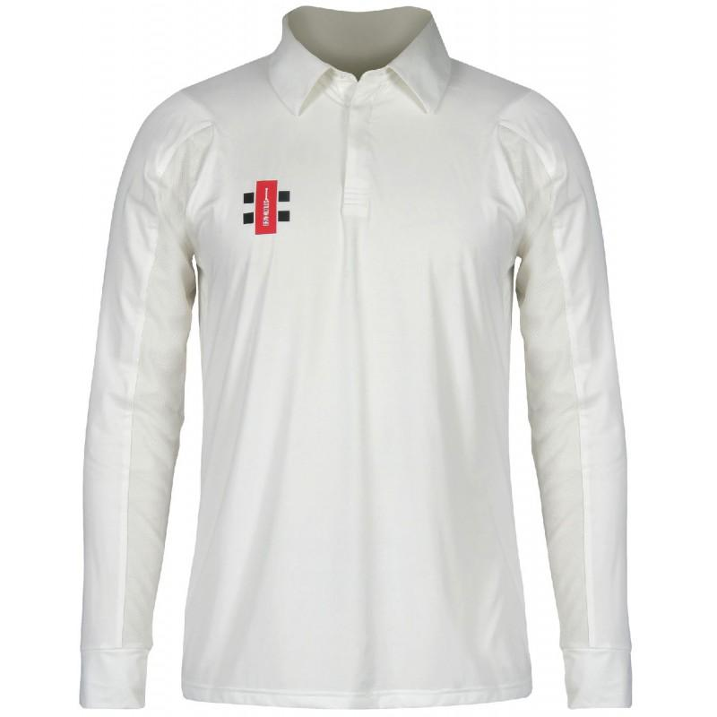 Gray Nicolls Velocity Long Sleeve Cricket Shirt