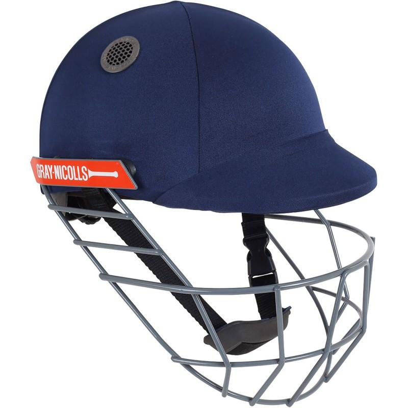 Gray Nicolls Atomic Cricket Helmet - Navy
