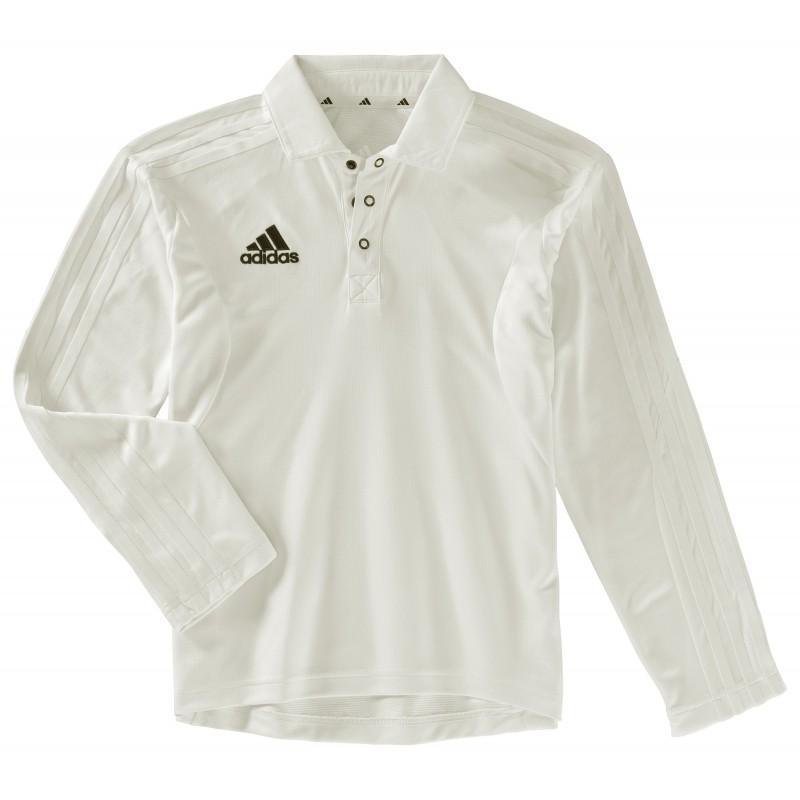 Adidas Long Sleeve Junior Cricket Shirt