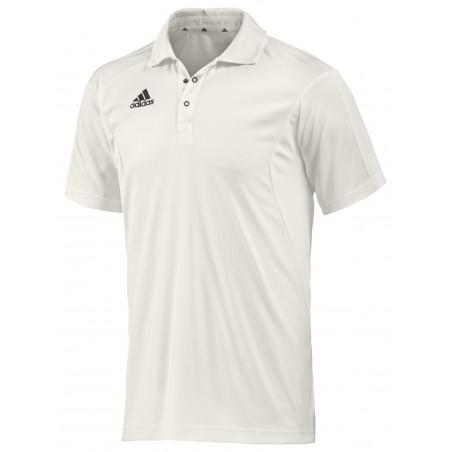 Adidas Short Sleeved Junior Cricket Shirt