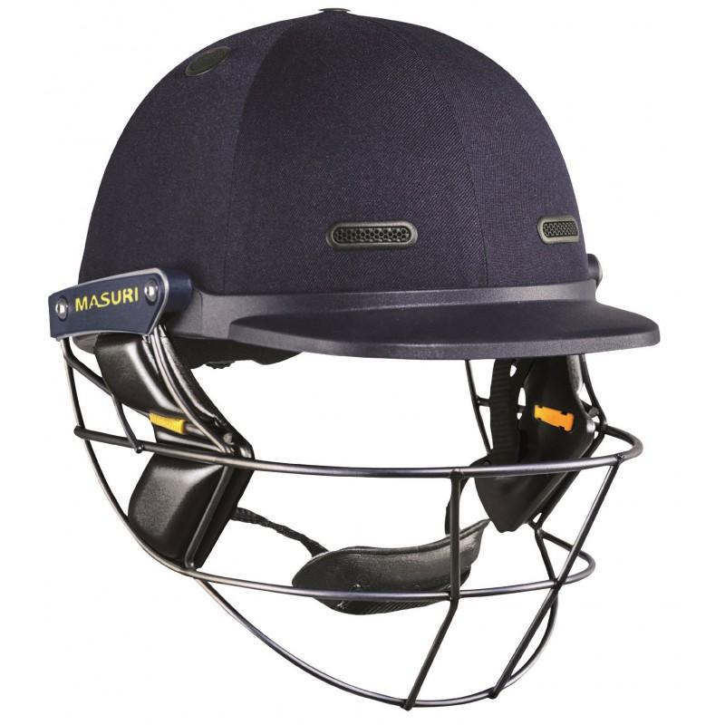 Masuri Vision Test Senior Helmet (Titanium Grille)