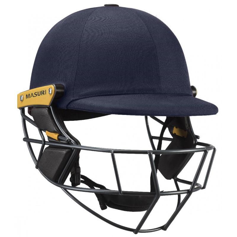 Masuri Original Test Senior Helmet (Titanium Grille)