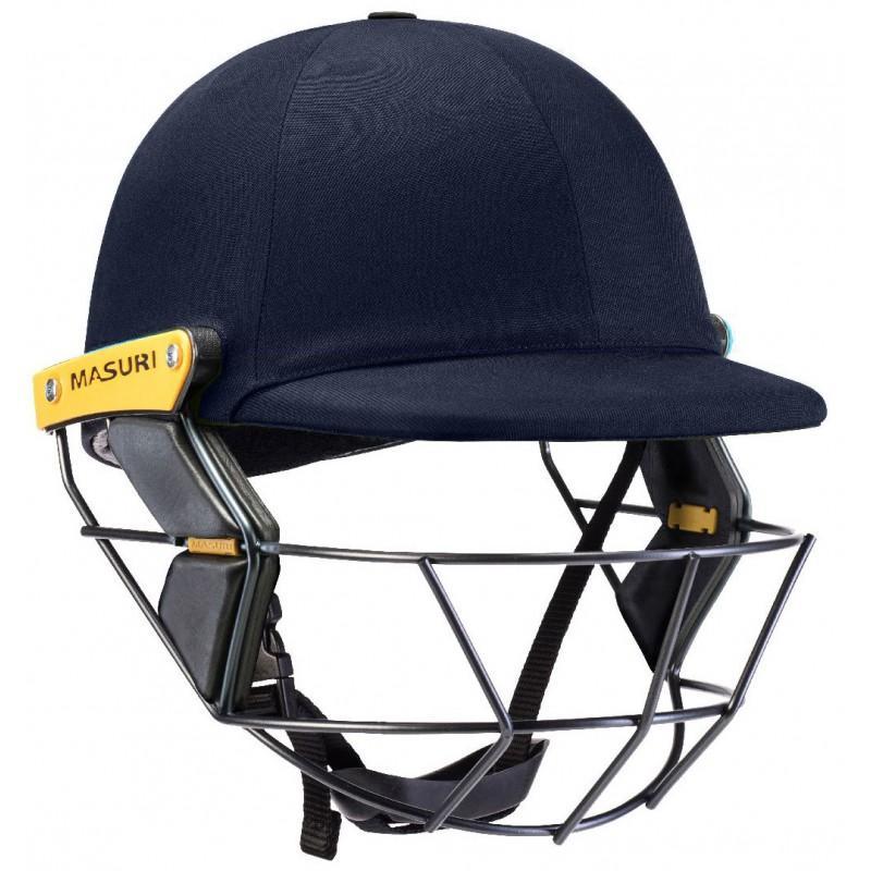 Masuri Original Test Junior Helmet (Steel Grille)