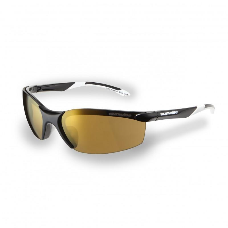 Sunwise Breakout Sunglasses (Black) + FREE Hard Case