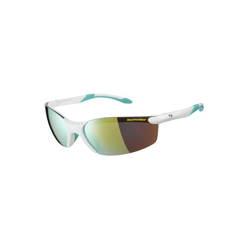 Sunwise Breakout Sunglasses (White) + FREE Hard Case