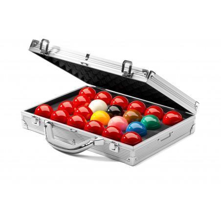1G Tournament Champion Aramith Snooker Balls & Case